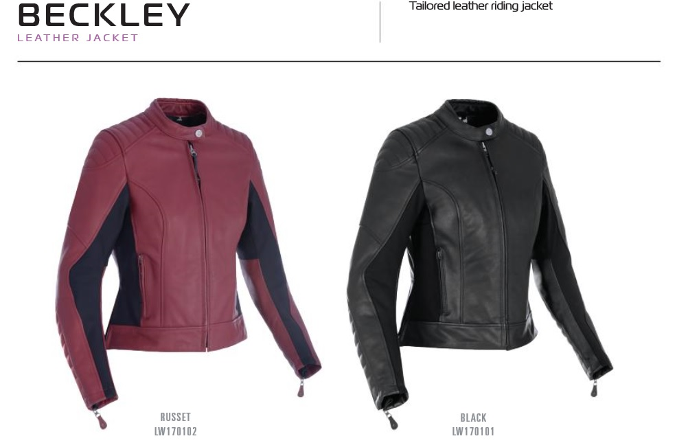 Oxford Ladies Beckley leather jacket