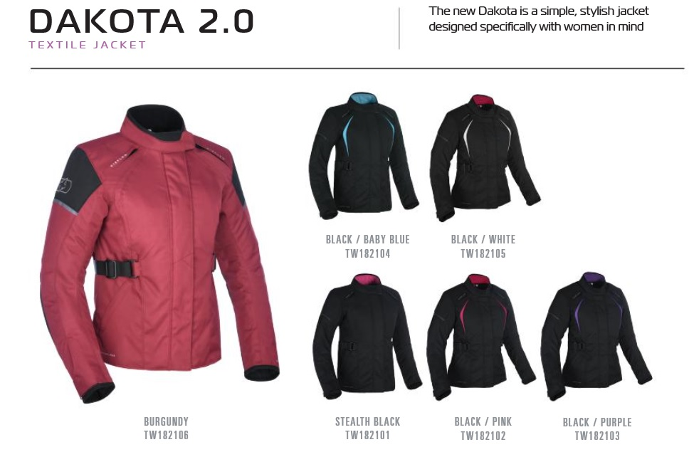Oxford Ladies Dakota 2.0 jacket