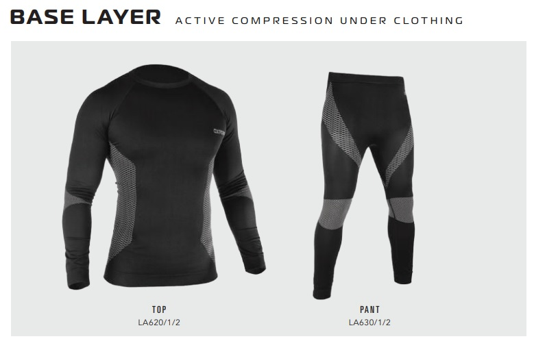 Oxford Base layer active under clothing