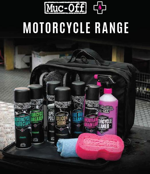 Muc Off CLEANING AND MAINTENANCE PRODUCTS - 10% off catalogue price