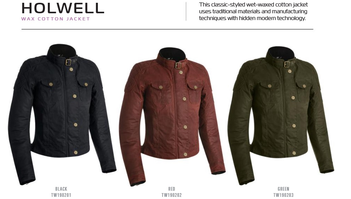 Oxford Holwell wax cotton textile jacket