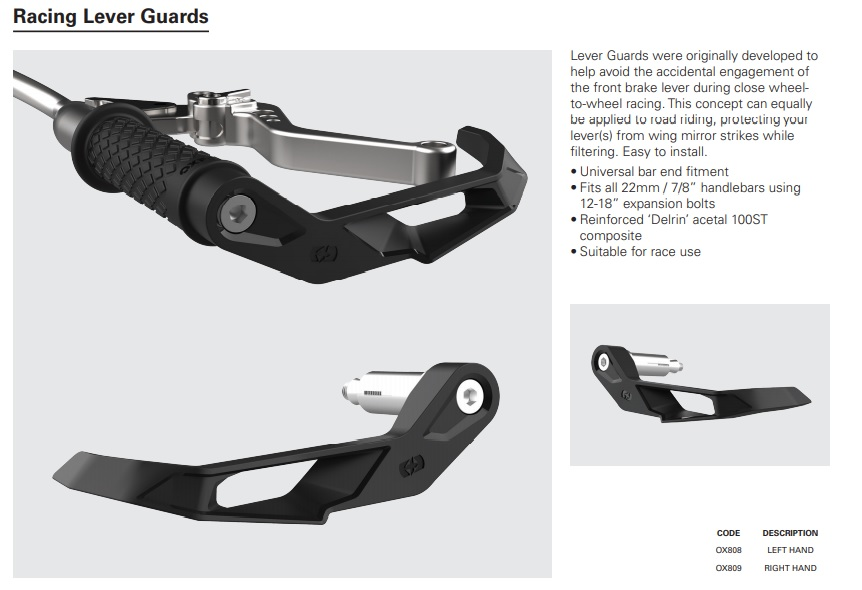 Oxford Racing Lever guards