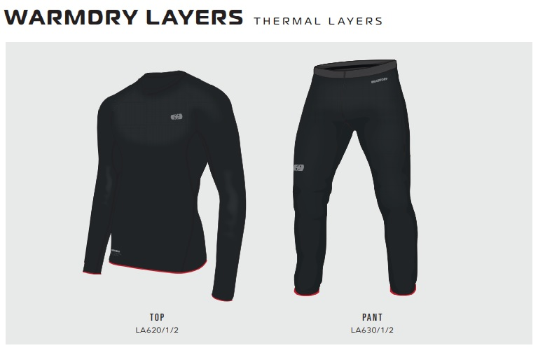 Oxford Warm dry thermal comfort clothing